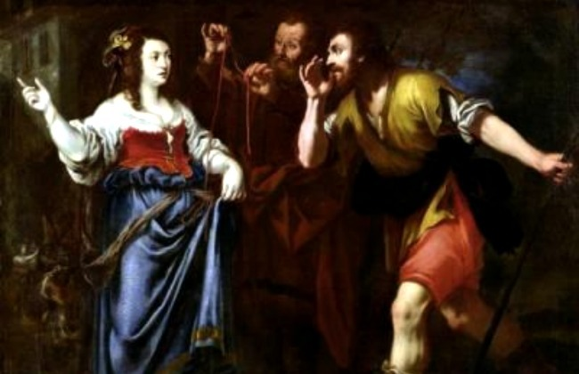 Rahab y los emisarios.