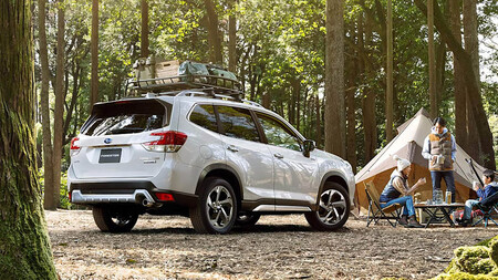 Subaru Forester restyling 2022