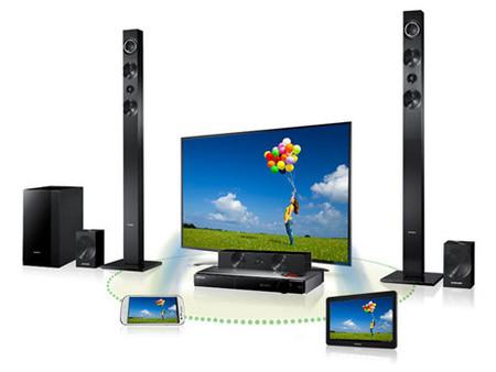 Samsung HT-F9730W, home cinema con Blu-ray y amplificador de válvulas