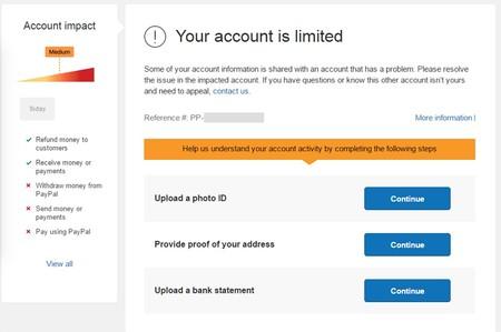 Paypal Cuenta Limitada
