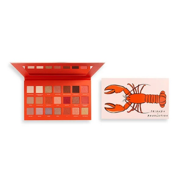 REVOLUTION Friends Limited Edition Lobster Shadow Palette
