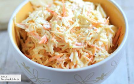 Cómo hacer ensalada de col: receta americana de ensalada coleslaw