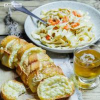Cómo hacer un delicioso pan de ajo gratinado