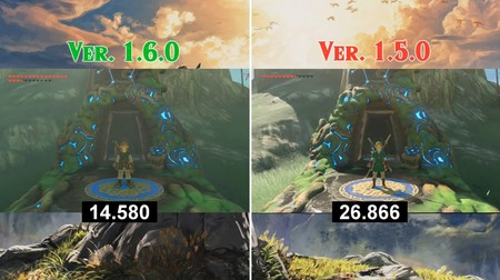 The Legend of Zelda: Breath of the Wild y Super Mario Odyssey han reducido sus tiempos de carga considerablemente