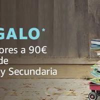 10 euros de regalo en los Libros de texto con Amazon