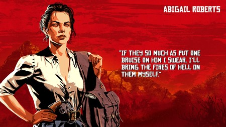 Red Dead Redemption 2 Abigail Roberts