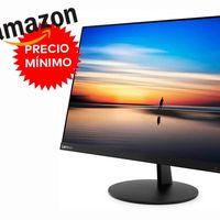 Precio mínimo en Amazon para el interesante monitor de 27 pulgadas Lenovo L27m: ahora lo tienes por 199,99 euros con 65 de descuento