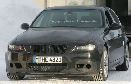 BMW M3 Sedán, fotos espía