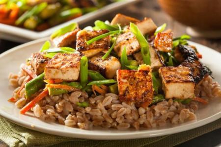 Dieta proteica vegetariana adelgazar