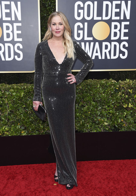 Christina Applegate globos de oro 2020