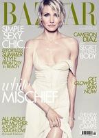Cameron Diaz, húmeda y ultra sexy para Harper's Bazaar