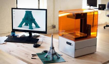 La impresora en 3D Form 1 quiere materializar en alta resolución  nuestros diseños