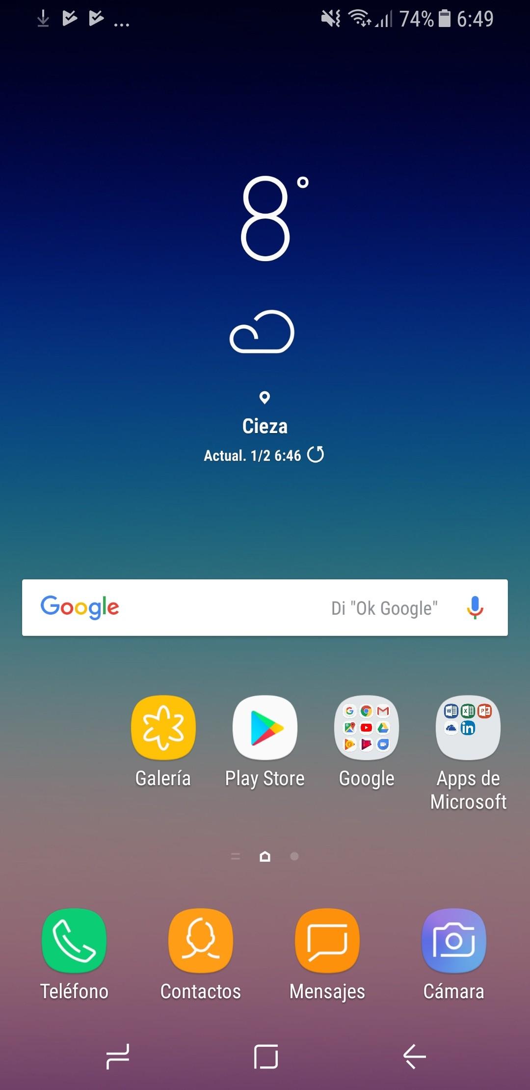 Foto de Galaxy A8 interfaz (8/10)