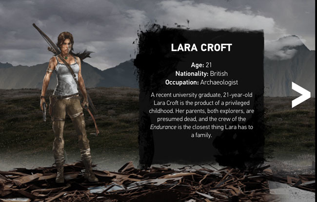 Lara Croft, Tomb raider the final hours