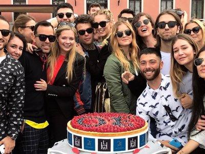 El fin de semana del 30 cumpleaños de Chiara Ferragni resumido en 30 imágenes