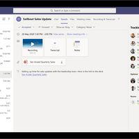 Microsoft Teams anuncia una función que resume la reunión al completo: grabación, transcripción, chat y documentos compartidos en una pestaña