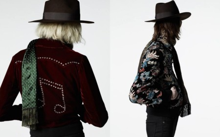 Hedi Slimane Saint Laurent Fall Winter 2016 Palladium Collection
