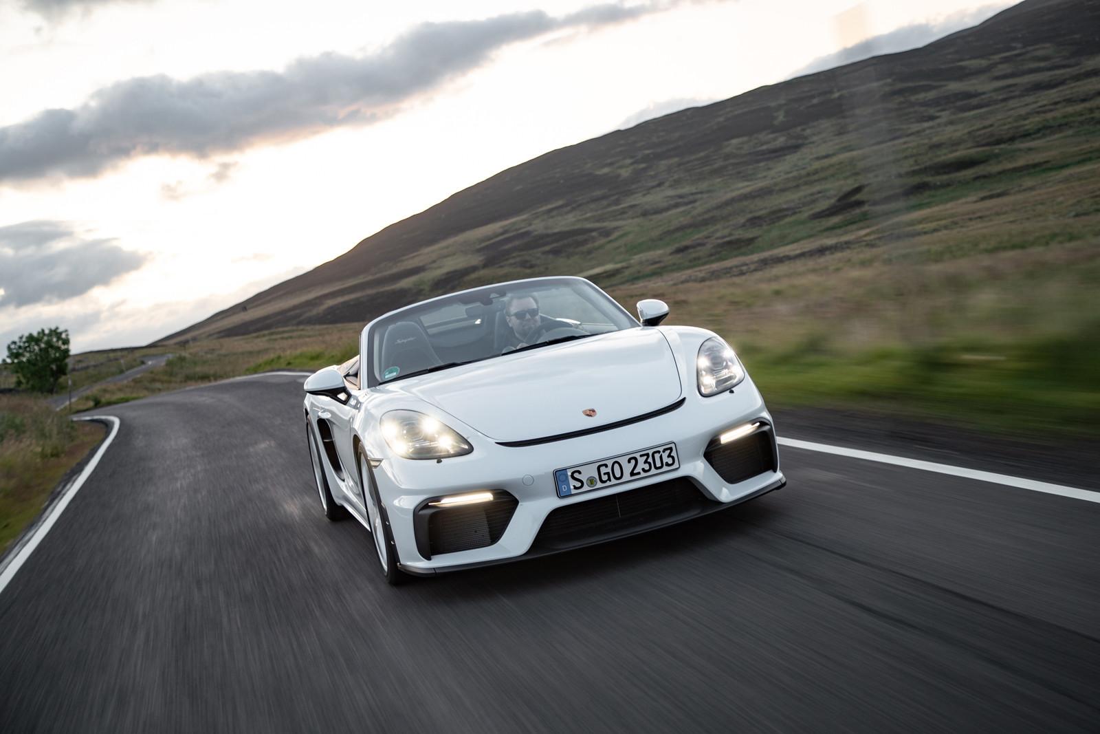 Foto de Porsche 718 Spyder (prueba contacto) (99/296)