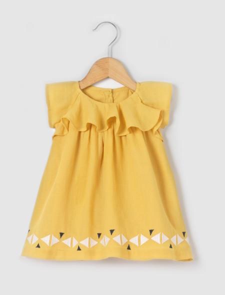 Vestido Mostaza Bebe Rebajas