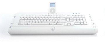 Teclado para el iPod de la mano de Razer