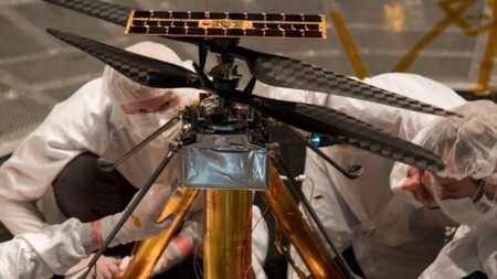 Ingenuity Mars Nasa Marte