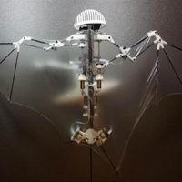 Éste es el primer murciélago robot