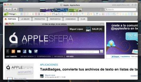 Sleipnir, un nuevo concepto de interfaz para navegadores llega a OS X