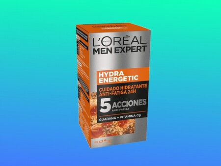 La hidratante más vendida de Amazon es esta anti-fatiga con guaraná de L'Oréal Men Expert y hoy la tienes con un 30% de descuento