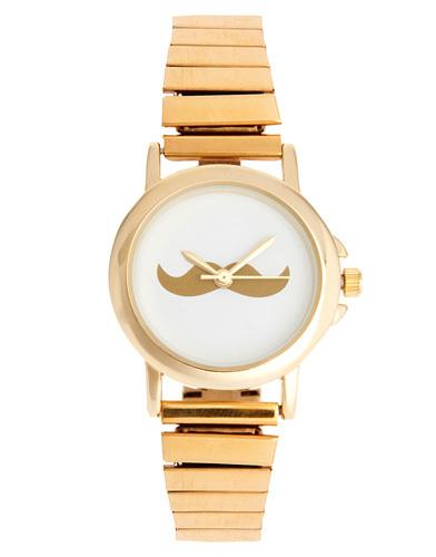 reloj dorado Asos