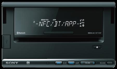 Sony XSP-N1BT en tu coche