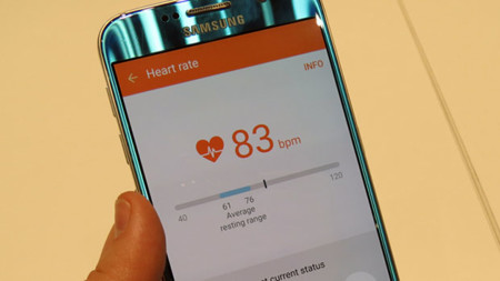 Galaxy S6 Heart Rate