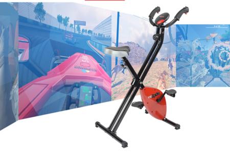 Según VirZoom, la realidad virtual y la bicicleta estática nacieron para llevarse bien