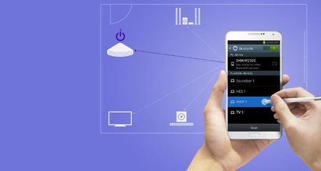 Control Barra Sonido Smartphone