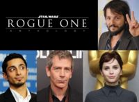 'Star Wars - Anthology: Rogue One', Diego Luna será otro protagonista del spin-off