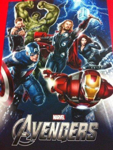 'Los Vengadores' ('The Avengers'), primer cartel