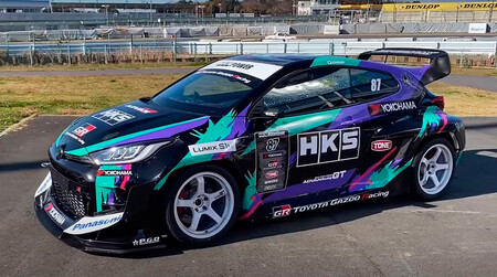 El Toyota GR Yaris de HKS con 475 CV es el alter ego radical del utilitario deportivo de moda