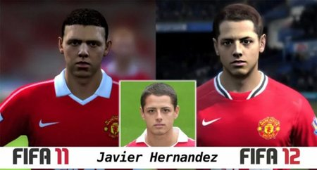 La evolución en los jugadores de 'FIFA 11' a 'FIFA 12'