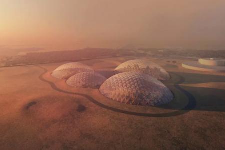 Una ciudad artificial en medio del desierto para simular la vida en Marte: así será la Mars Science City