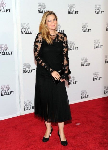 Drew Barrymore new York city Ballet