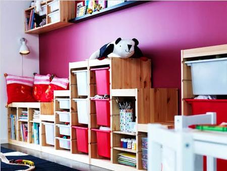 Soluciones para que los niños ordenen los juguetes