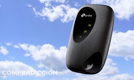Amazon tiene más barato que nunca el punto de acceso 4G TP-Link M7200: llévatelo a todas partes por sólo 38 euros