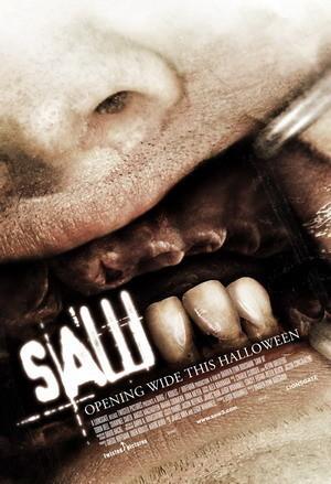 Primer póster de 'Saw 3'