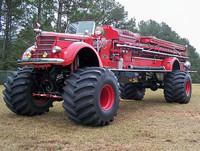 Big Red, un camión de bomberos peculiar en Barrett-Jackson