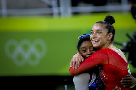 Raisman And Biles