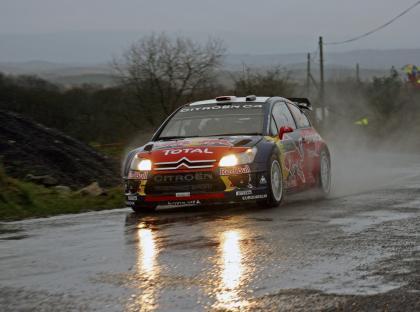 Doblete de Citroën en el Rally de Irlanda