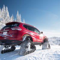 Nissan Rogue Warrior concept: un X-Trail con orugas para nieve