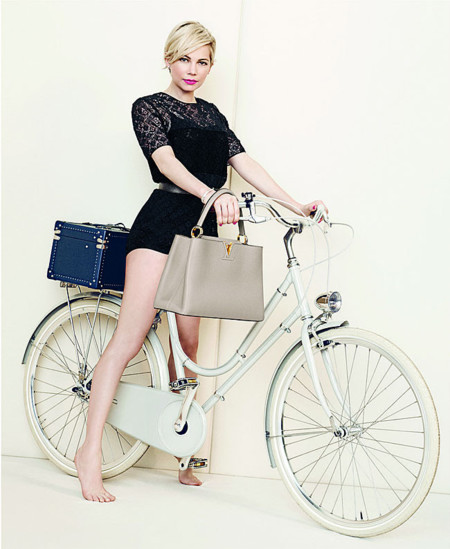 El vídeo de campaña con Michelle Williams para Louis Vuitton‏