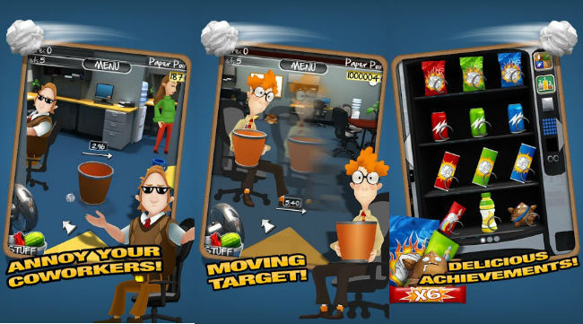 Paper Toss 2.0 para Android