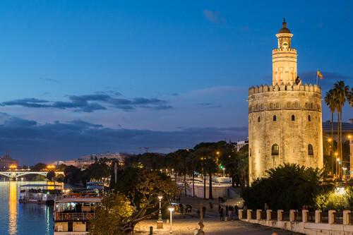 La Torre del Oro en Sevilla cumple 800 años