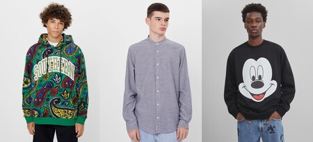 70% de descuento en moda hombre de Bershka: camisetas por 1,99 euros, sudaderas por 5,99 euros o cazadoras por 7,99 euros